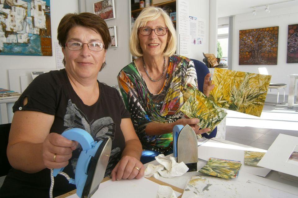 Atelier Siegrid Müller-Holtz, Foto: Siegrid Müller-Holtz