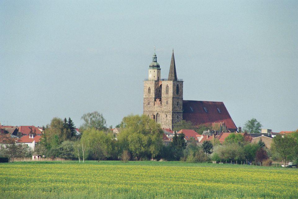 Stadtansicht mit Nikolaikirche, Foto: Kirchengemeinde Jüterbog