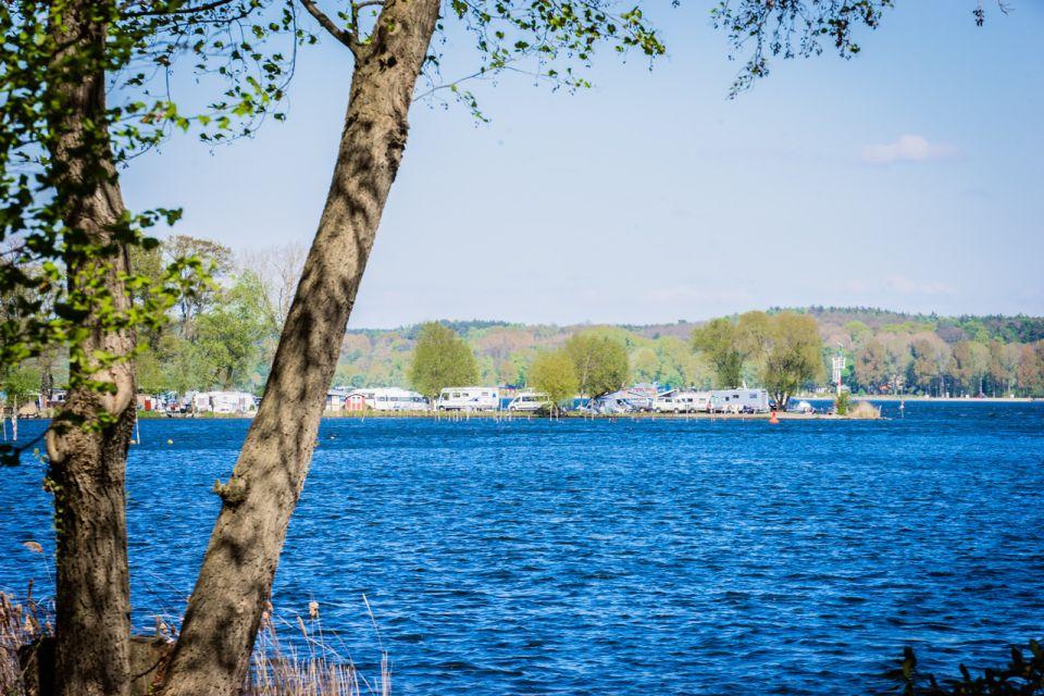 Campingplatz Himmelreich, Blick von anderen Ufer, Foto: Campingplatz Himmelreich