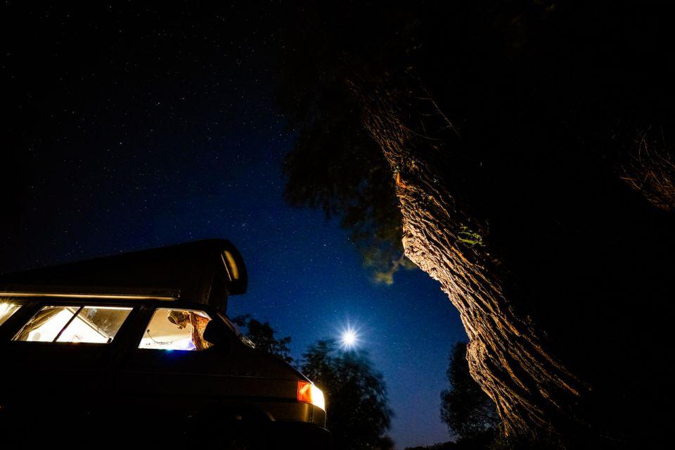 Campingplatz Himmelreich nachts, Foto: Campingplatz Himmelreich