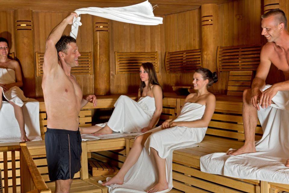 Saunaaufguss in der SteinTherme Bad Belzig, Foto: Thomas Piechota