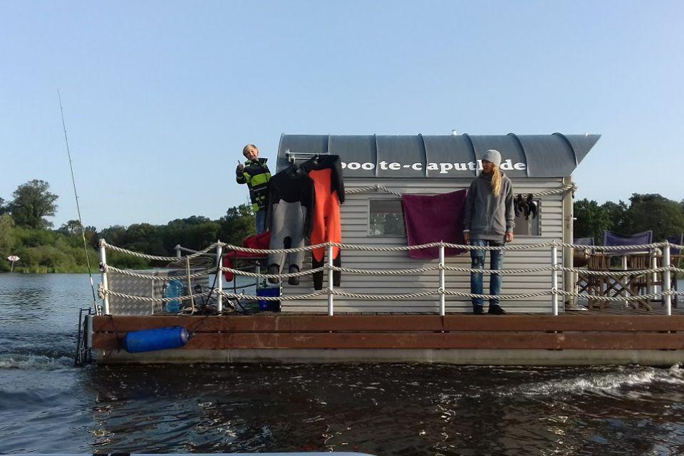 Floß, Foto: Bothe Wassersport
