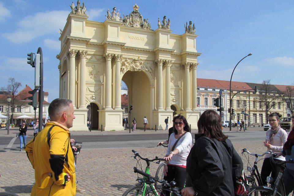Luisenplatz mit Brandenburger Tor in Potsdam, Foto: TMB-Fotoarchiv/Matthias Fricke