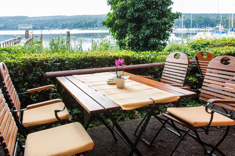 Restaurant-Terrasse, Hotel & Restaurant Haus am See Foto: Maria Parussel