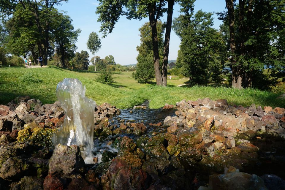 Schloss und Park Babelsberg: Wasserspiele, Foto: Jan Hoffmann