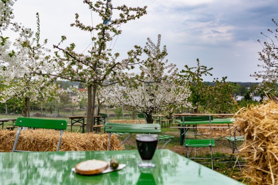 Pause zur Baumblüte, Foto: TMB-Fotoarchiv/Steffen Lehmann