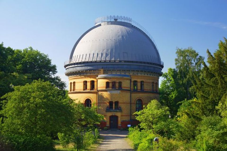 Der große Refraktor auf dem Telegrafenberg in Potsdam. (c) R. Arlt