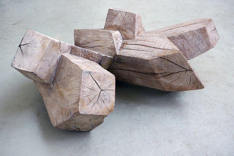 Holzarbeit, Foto: Ilka Raupach