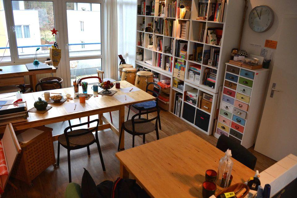 Sabine Braun, Atelier Pinselinsel, Foto: Sabine Braun