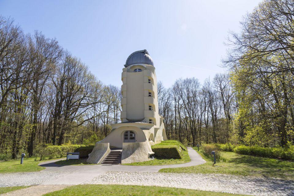 Einsteinturm auf dem Telegrafenberg, Foto: TMB-Fotoarchiv/Steffen Lehmann