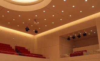 Landtag Brandenburg, Plenarsaal, Besuchertribünen © TMB-Fotoarchiv/S. Lehmann