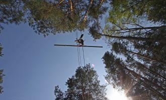 CLIMB UP! - Kletterwald in Klaistow - Seiltänzer, Foto: Climb up!