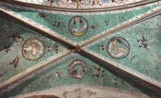 Deckenmalerei Nikolaikirche, Foto: Heike Schulze