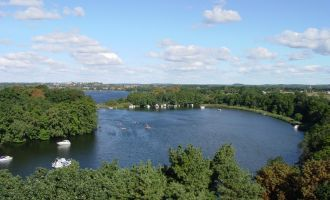 Blick auf den Glindower See, Foto: Jan Hoffmann