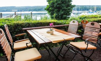 Restaurant-Terrasse Haus am See, Foto: Hotel & Restaurant Haus am See