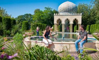 Gärten des kleinen Muck, Foto: Filmpark Babelsberg