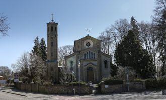 Kirche Caputh, Foto: TMB-Fotoarchiv/Steffen Lehmann