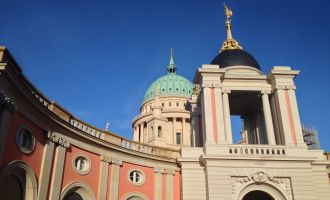 Landtag Brandenburg, Fortunaportal © TMB-Fotoarchiv/S. Lehmann