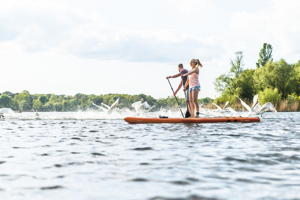 Stand Up Paddling auf dem Schwielowsee, Foto: Paul Ganse