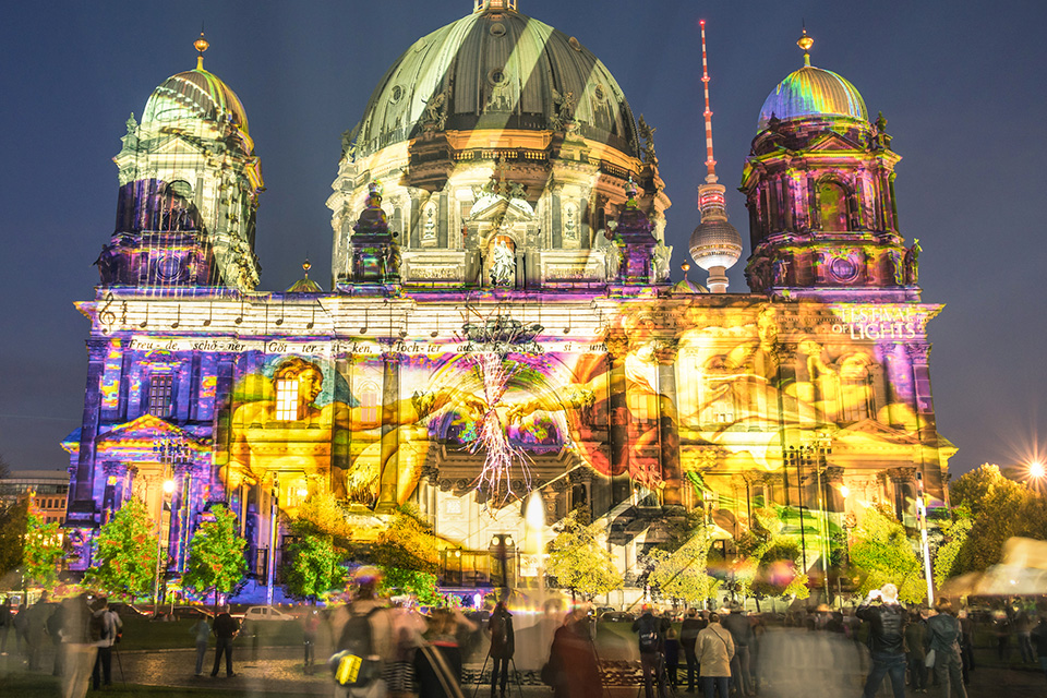 Festival of lights am Berliner Dom