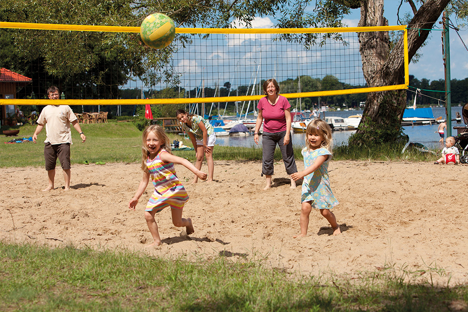 Volleyball am Strandbad Ferch