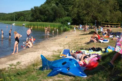 Schwielowsee Camping, Strand: