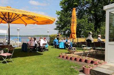 Pension Wolff am See, Terrasse: